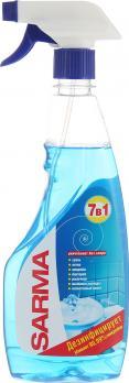 Sarma Спрей для чистки поверхностей ванной комнаты 500мл